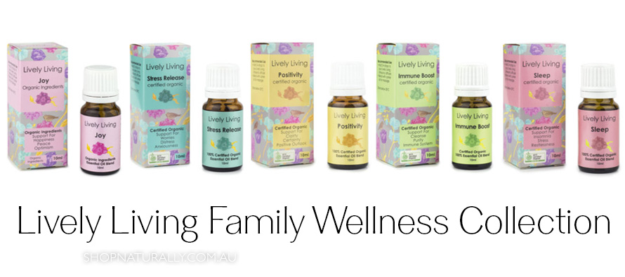 Lively Living Family Wellness Collection of essential oil blends