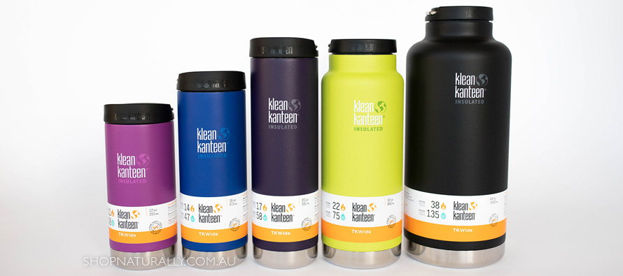 Your complete guide to the TKWide range from Klean Kanteen