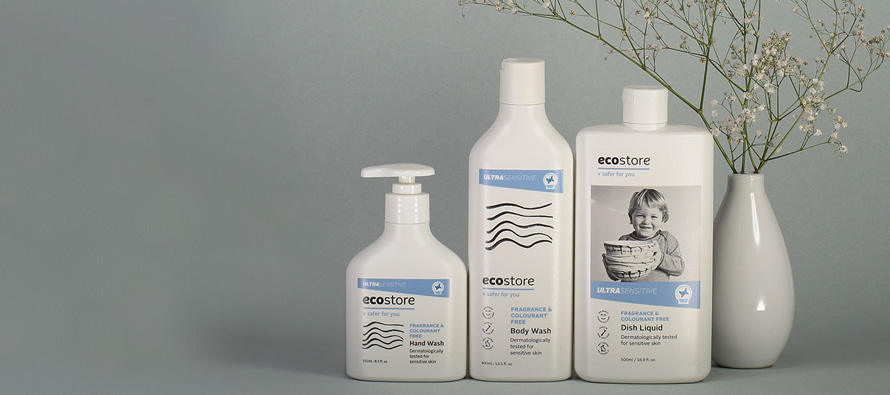 New Ultra Sensitive range from Ecostore