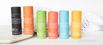 Meet Tango & Tux - two new deodorants from the Woohoo range